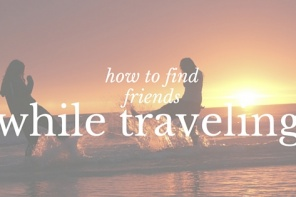 How to find friends